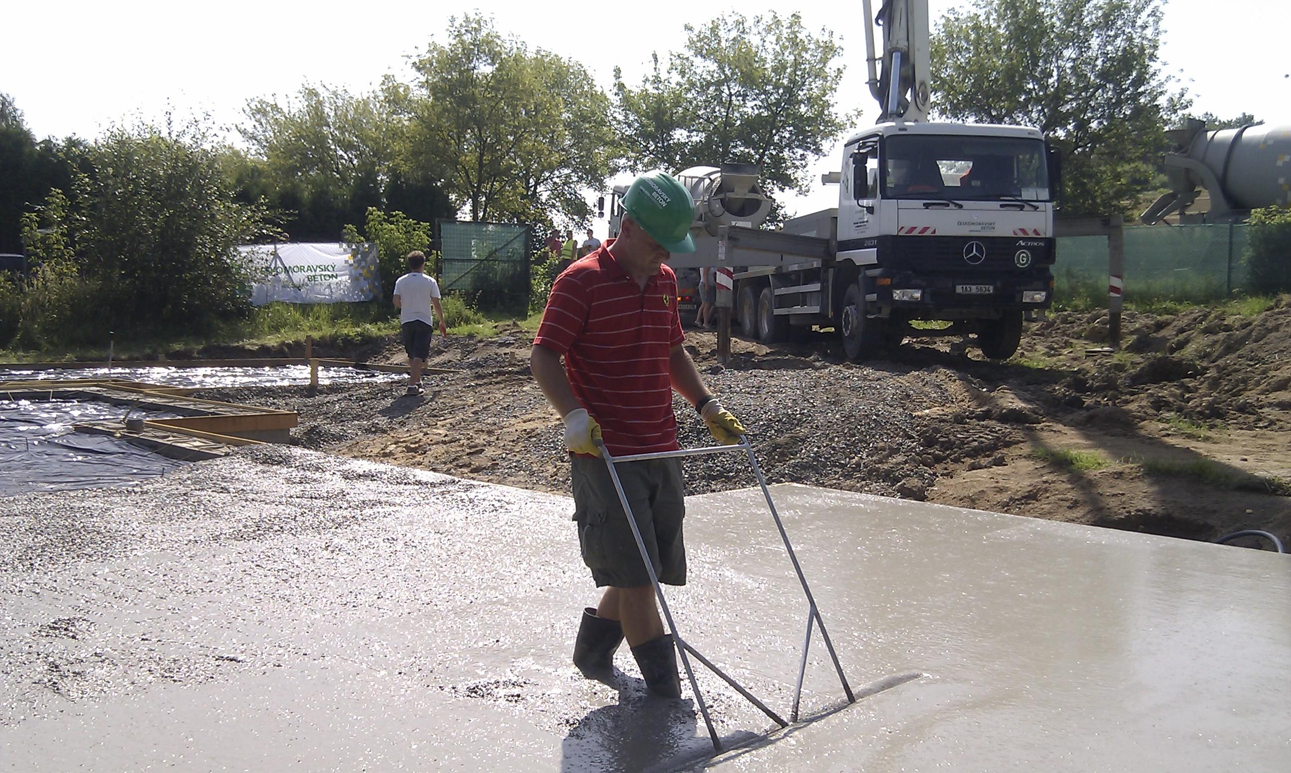 Doba míchání betonu
